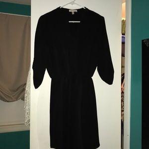 Black 3/4 length sleeve dress